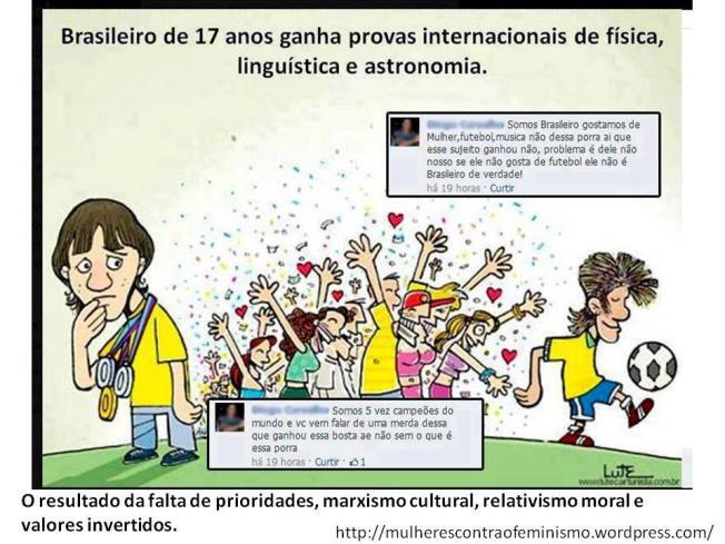 Neymar relativismo moral Brasil feminismo