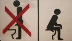 noruega homem urinar sentado