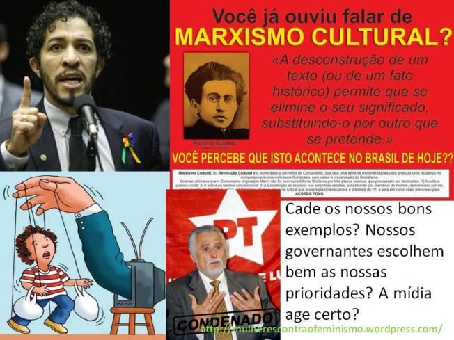 marxismo cultural Jean Wyllys feminismo