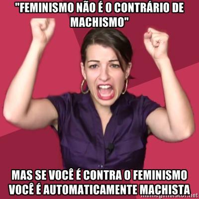 hipocrisia feminista mulheres contra o feminismo