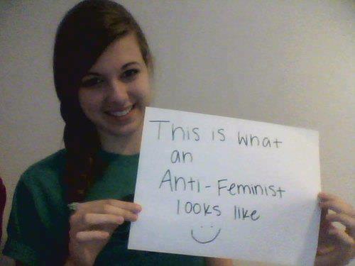 mais mulheres anti feminismo