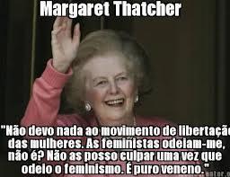 margareth thatcher feminismo feministas