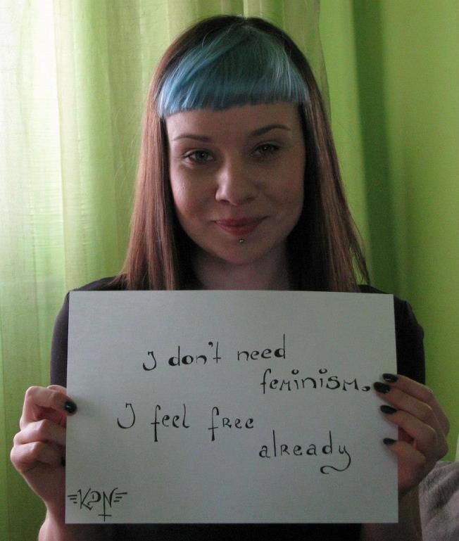 Nao precisamos do feminismo
