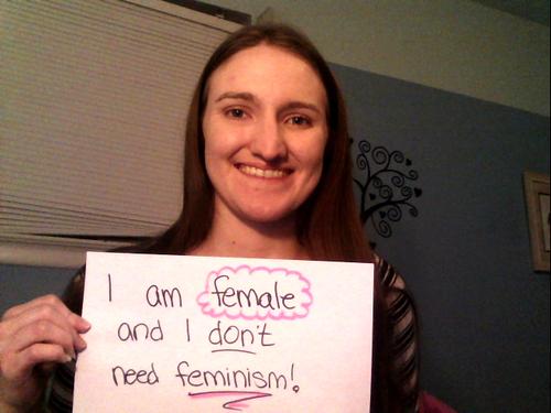 Nao preciso do feminismo