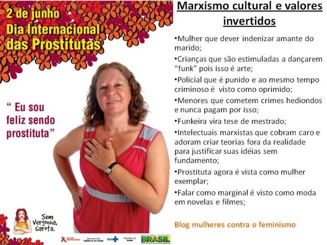 valores invertidos feminismo marxismo cultural