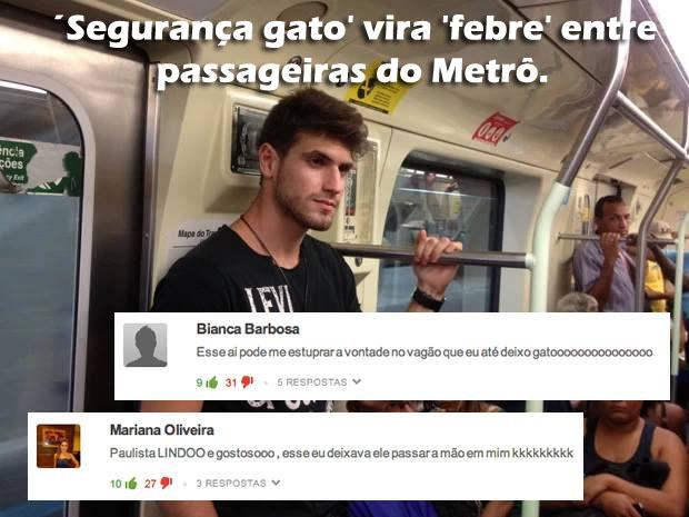 segurança-gato-metro feministas
