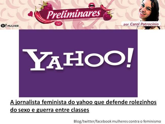 carol patrocinio feminista marxismo cultural