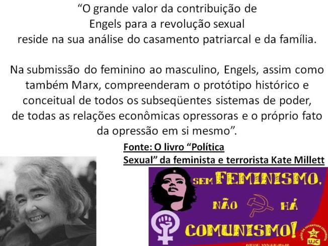 feminismo é comunismo