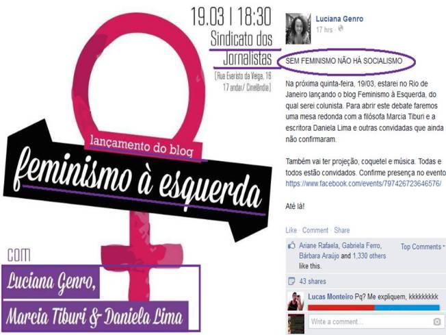 luciana genro feminista