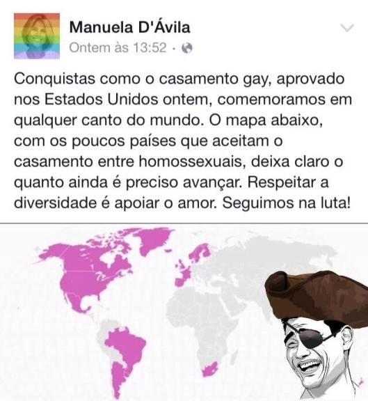 movimento gay feminismo comunismo