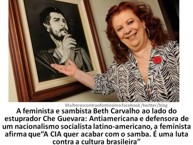 Beth Carvalho feminista doença feminista CIA
