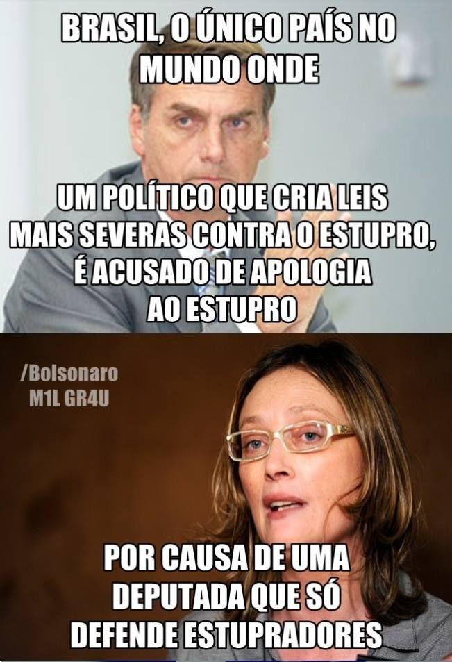 Bolsonaro Inocente Maria do Rosario